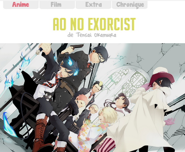 Ao no Exorcist (Blue Exorcist) / 青の祓魔師