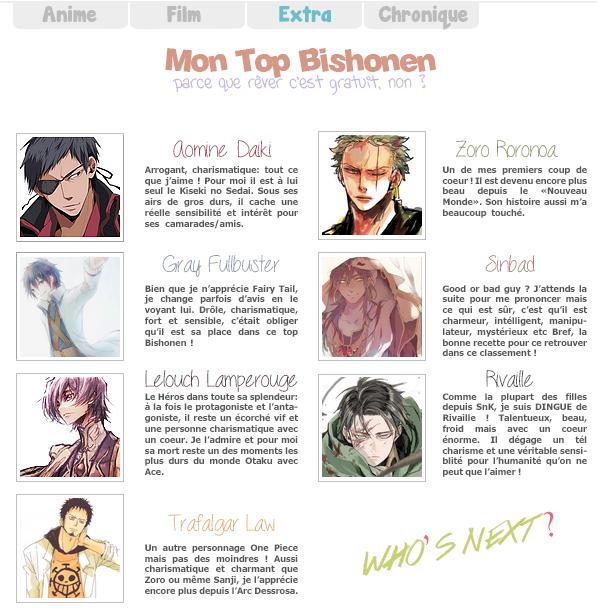 Top Bishonen
