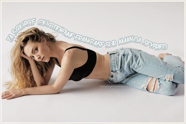 BIENVENUE SUR DAILYSEYFRIED • Ta source d'actualité sur la belle et talentueuse Amanda Seyfried.