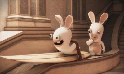 Test lapins crétins 3DS