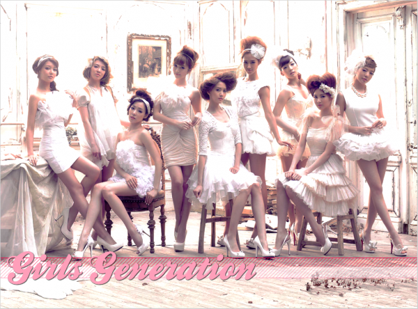 SNSD or GIRLS GENERATION