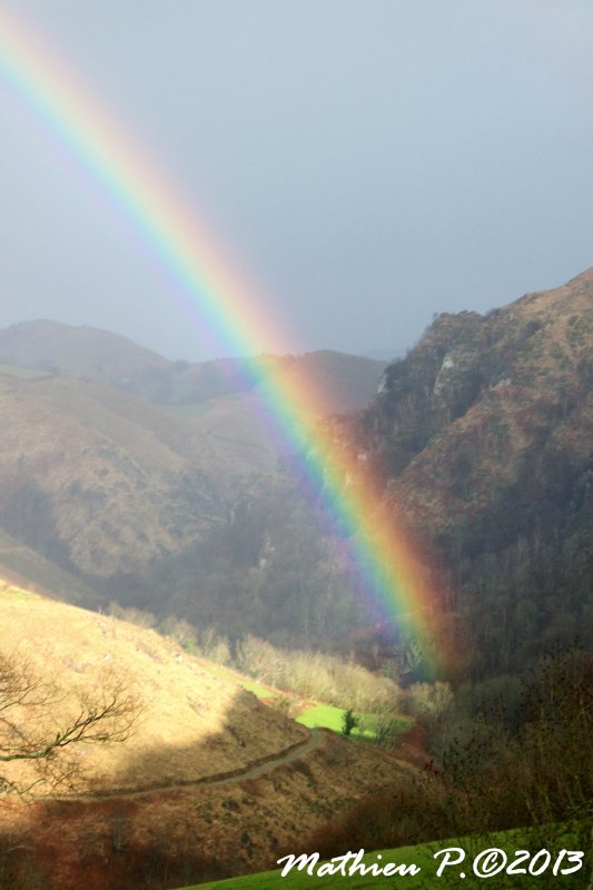 Hors série: The Rainbow in Mountain.