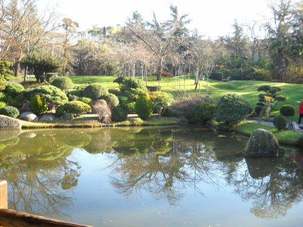 Dimanche 16 décembre sortie marche jardin Compans Carafelli et jardin japonais