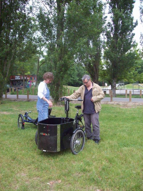 Samedi 15 Juin initiation tricycle à la ferme cinquante