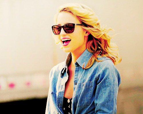 Ne perd pas de vue qui tu es sous prétexte qu'il est plus facile d'être quelqu'un d'autre ~ Glee