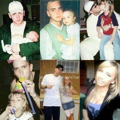 Eminem et sa fille