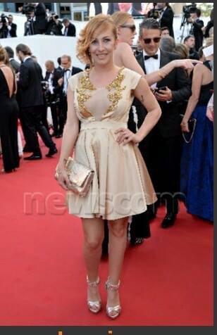 Gaëlle à Cannes