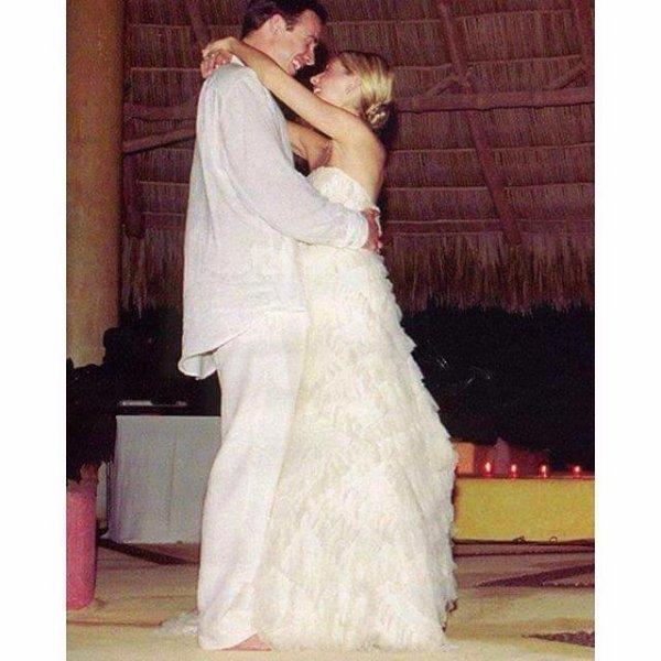 Pendant leur mariage