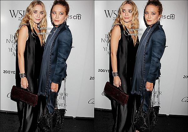 18 Octobre : Les filles étaient à la soirée WSJ. Magazine's Innovator Of The Year Awards  à New-York.