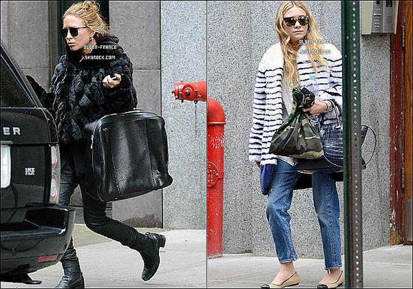 19 Octobre : Les filles ont été aperçue toutes les deux faisant un peu de shopping  à Soho dans New-York.