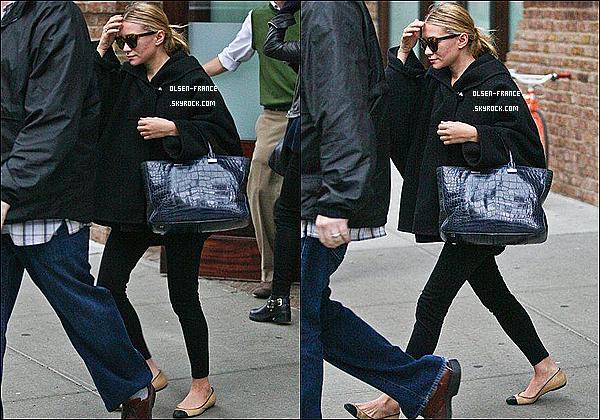 26 Octobre : Ashley à été repérée par les paparazzi quittant l'hôtel le Greenwich  dans les rues de New-York.