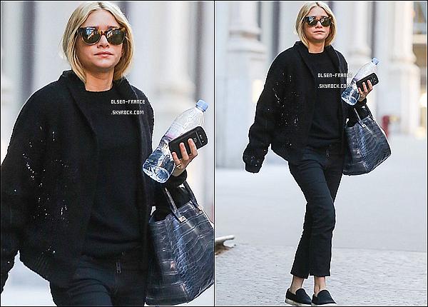 15 décembre : Ashley Olsen à été photographiée dans le quartier de Soho dans les rues de New York City.