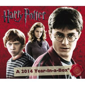 Les calendriers Harry Potter 2014