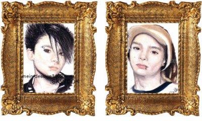 MEIN-DESSINS14O2.skyPORTRAIT 2007: Bill et Tom KAULITZ ( groupe allemand Tokio Hotel) Commandes iCi