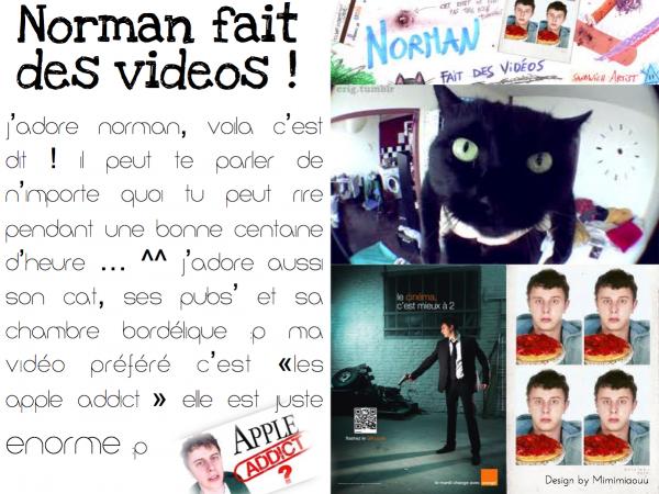 Norman fait des vidéos !