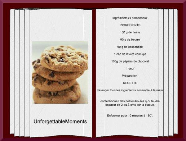 La Recette de la semaine : Des cookies