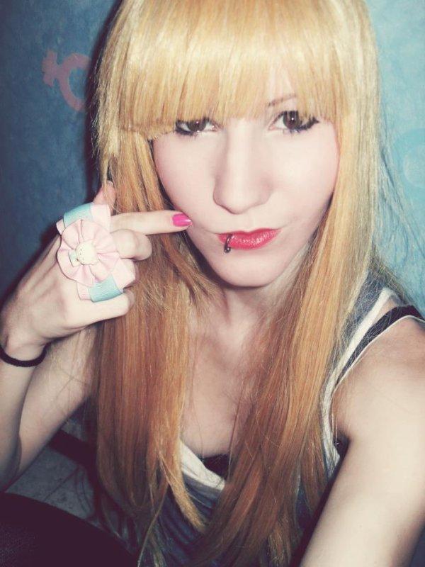 En mode blonde