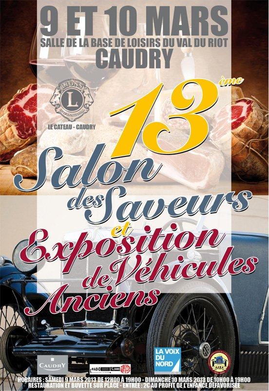 Samedi 9 mars 2013 Salon des saveurs Caudry