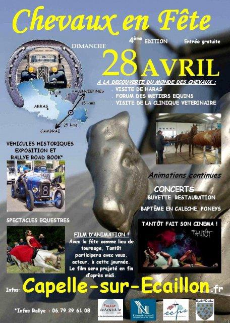 Dimanche 28 avril 2013 Exposition Capelle sur Ecaillon