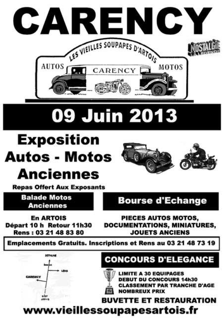 Dimanche 09 juin 2013 Exposition Carency