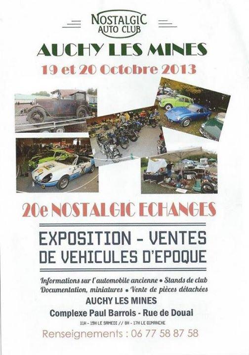 Dimanche 20 octobre 2013 Exposition Auchy-les-mines