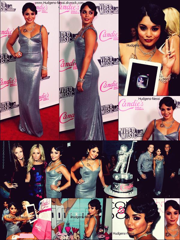 28 Août 2011 : Nessi était présente aux MTV Video Music Awards After Party 2011, on peut la voir accompagnée de Ashley Tisdale et d'autres stars. Tu aimes sa tenue ? Top ou Flop ?