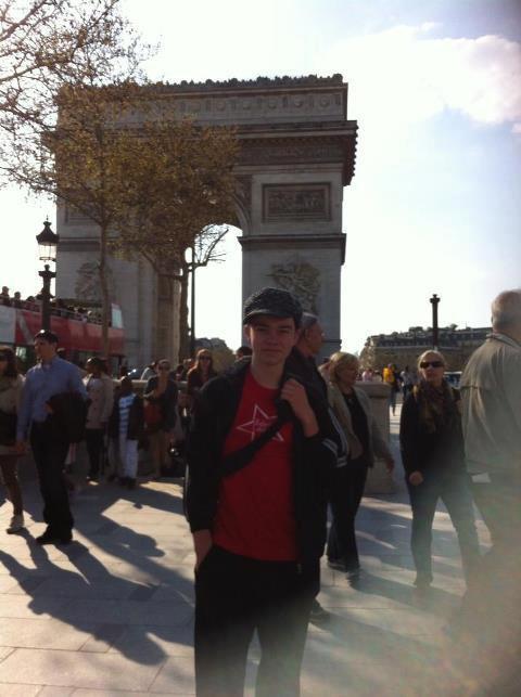 Noah Ringer a Paris