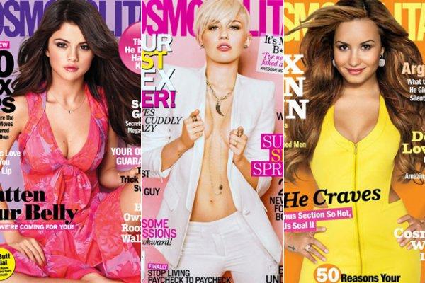Selena vs Miley vs Demi ; Laquelle vous préférez ?