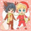 Concours Image de Nowel Avec Sasuke Et Naruto ♥♥ (Finit)