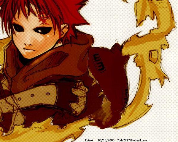 Gaara Du désert - Naruto