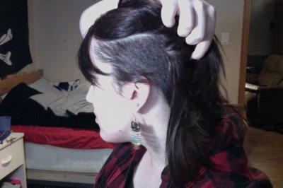 New hair cut 8D