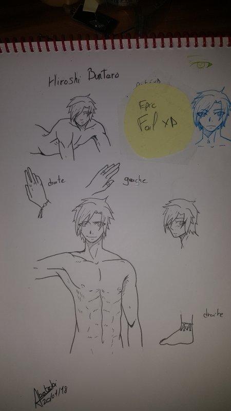 Hiroshi dessiner par moi