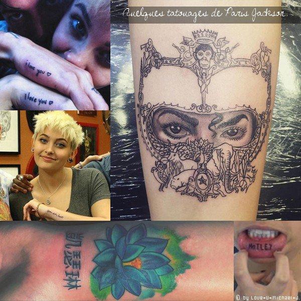 .♰. .Paris & ses tatouages...♰.