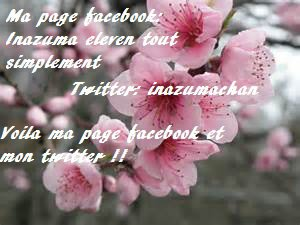 Ma page facebook et mon twitter