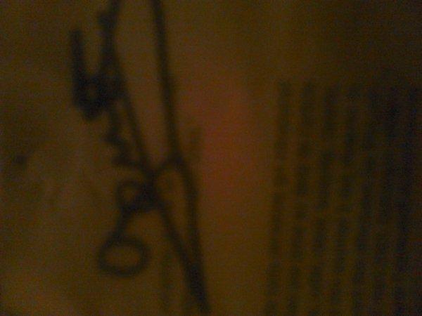 Autographe de Mélissa Gomes