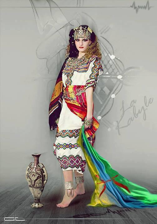 no femme avec une robe tradition
