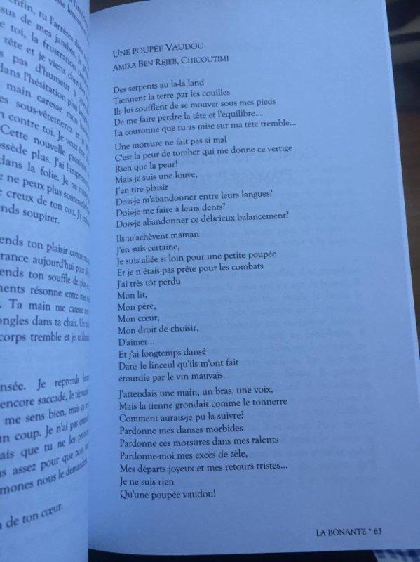 Poupée Voodoo- Publié chez La Bonante