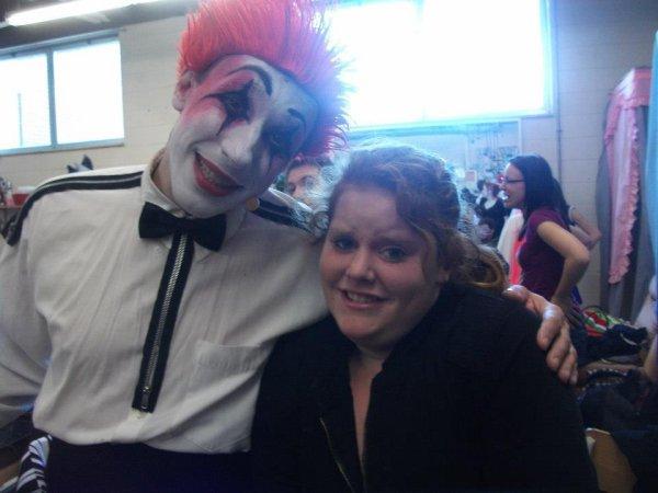 jai peur des clown
