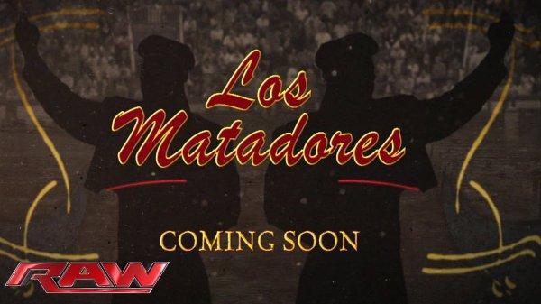 """Du nouveau concernant """"Los Matadores"""""""