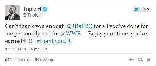 Jim Ross quitte la WWE!