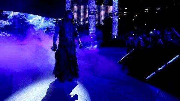 L'Undertaker retourne à l'entraînement!