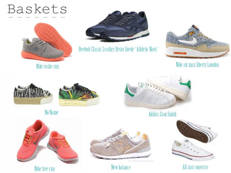 Top ᴥ Plutôt baskets ou talons ? ᴥ - Blog de freebeautyspirit ZX43