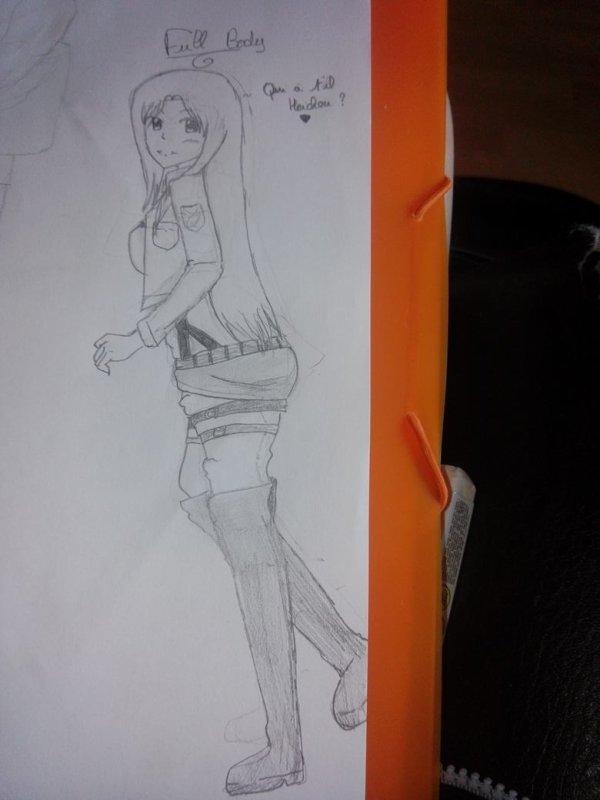 Dernier dessin : Shinobu Takashiro en SnK~♥