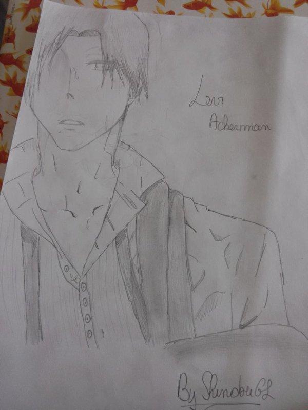 Premier dessin de Levi ~♥