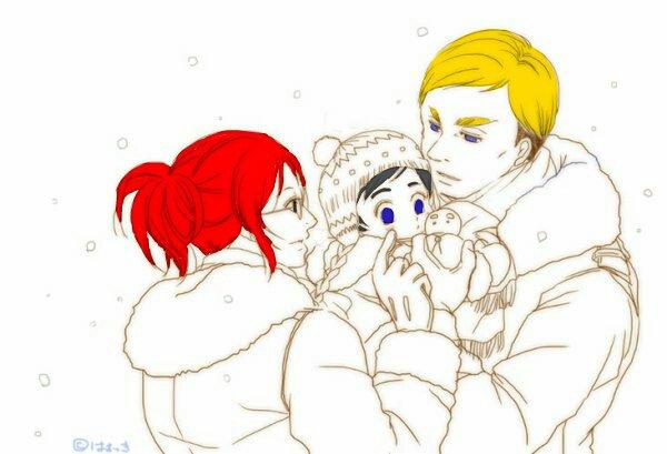 Shinobu avec Ulrich et Erwin