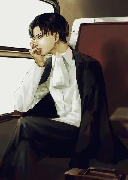 Levi qui garde son calme habituel mais le perd avec Erwin.