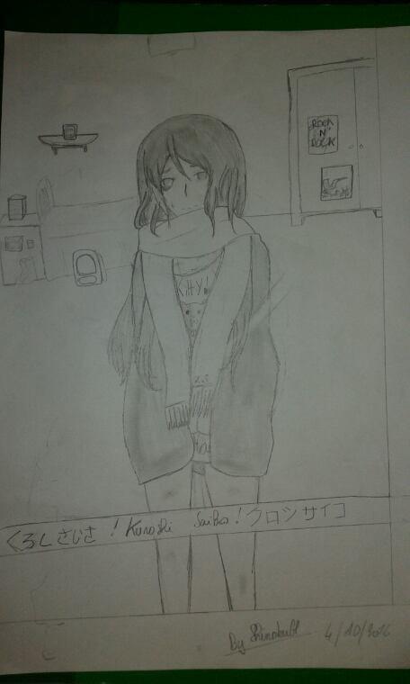 Kuroshi Saiko [OC TOKYO GHOUL EN COUR]
