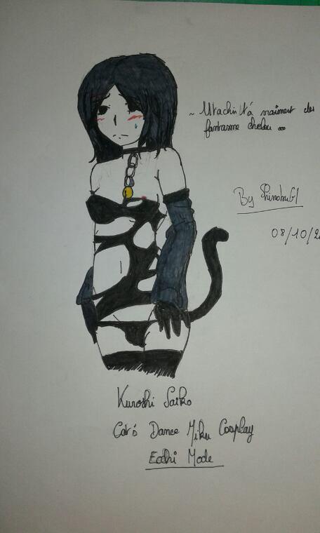 Kuroshi Saiko ecchi draw