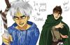 Eren et Jack Frost qui ont eût la bonne idée D'échangaient.
