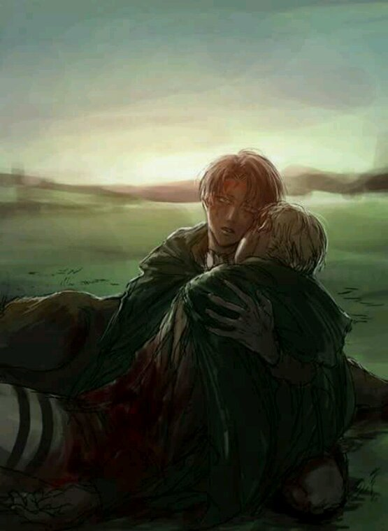 Un peu d'Eruri (le plus soft, le R18 sera en blog secret)